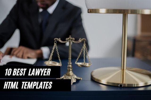 Best Lawyer HTML Website Templates