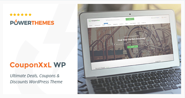 CouponXxL - Deals, Coupons & Discounts WP Theme