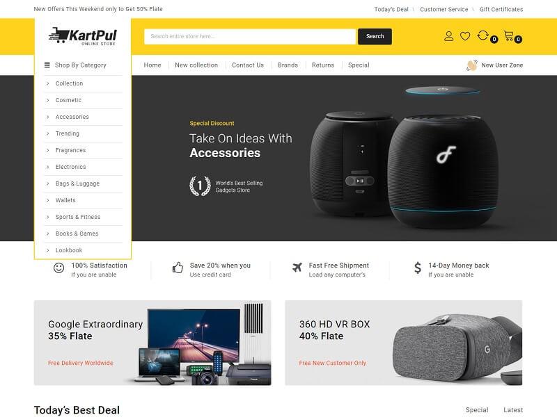 KartPul - 47 Best Premium E-commerce Magento Themes 2019
