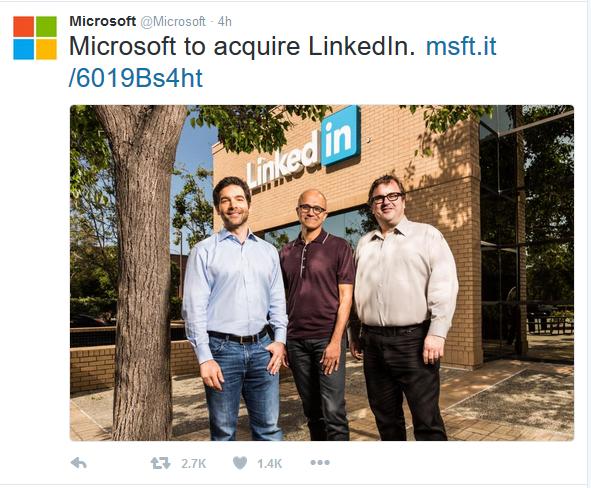 Microsoft-Acquires-LinkedIn