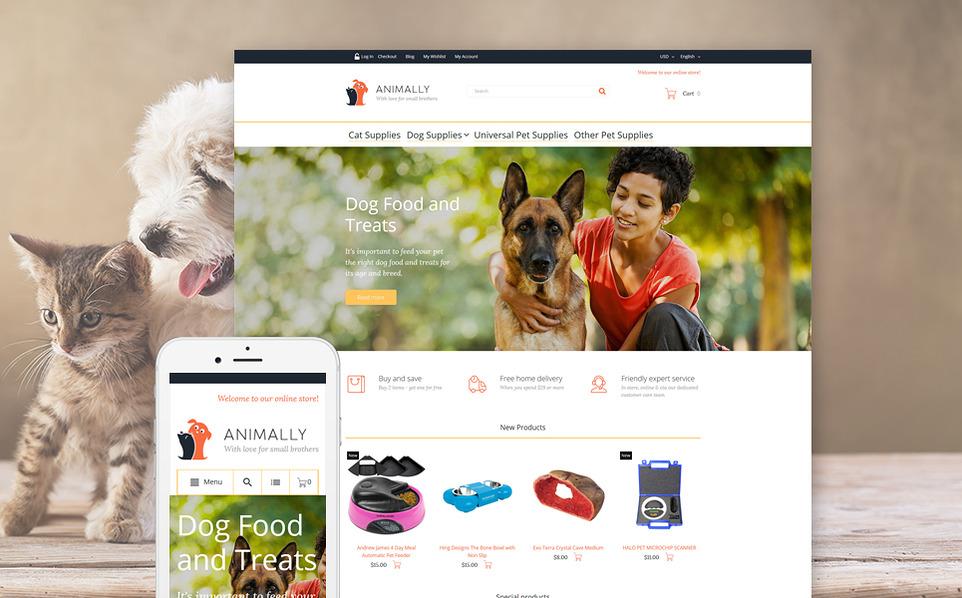 animality - 47 Best Premium E-commerce Magento Themes 2019