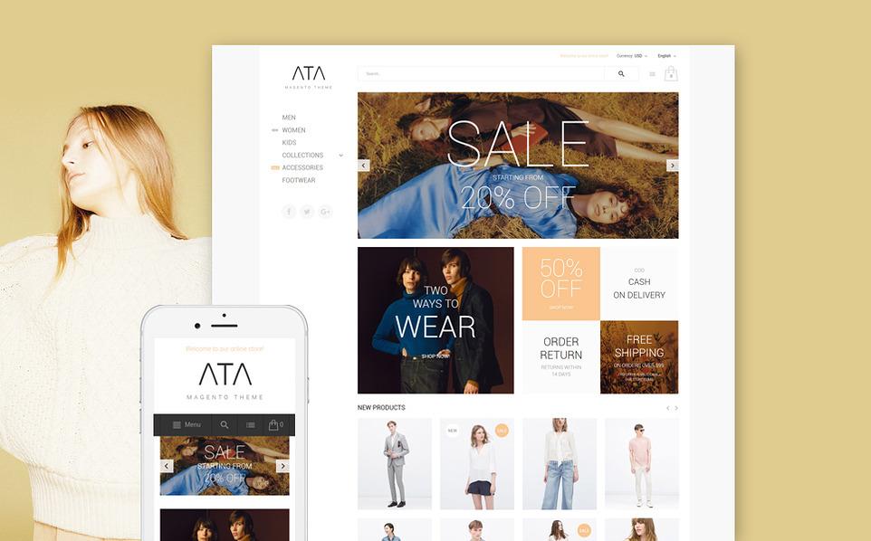 ata - 47 Best Premium E-commerce Magento Themes 2019