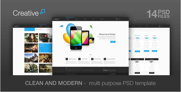 creative Best PSD Website Templates