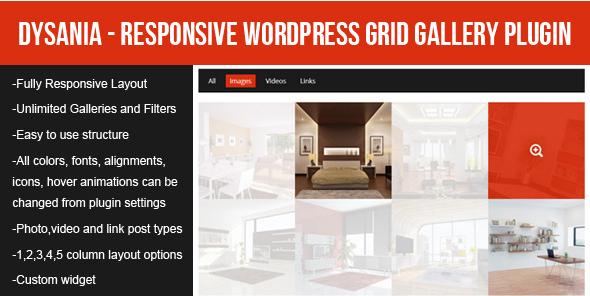 dysania Best WordPress Premium Photo Gallery Plugins wpshopmart