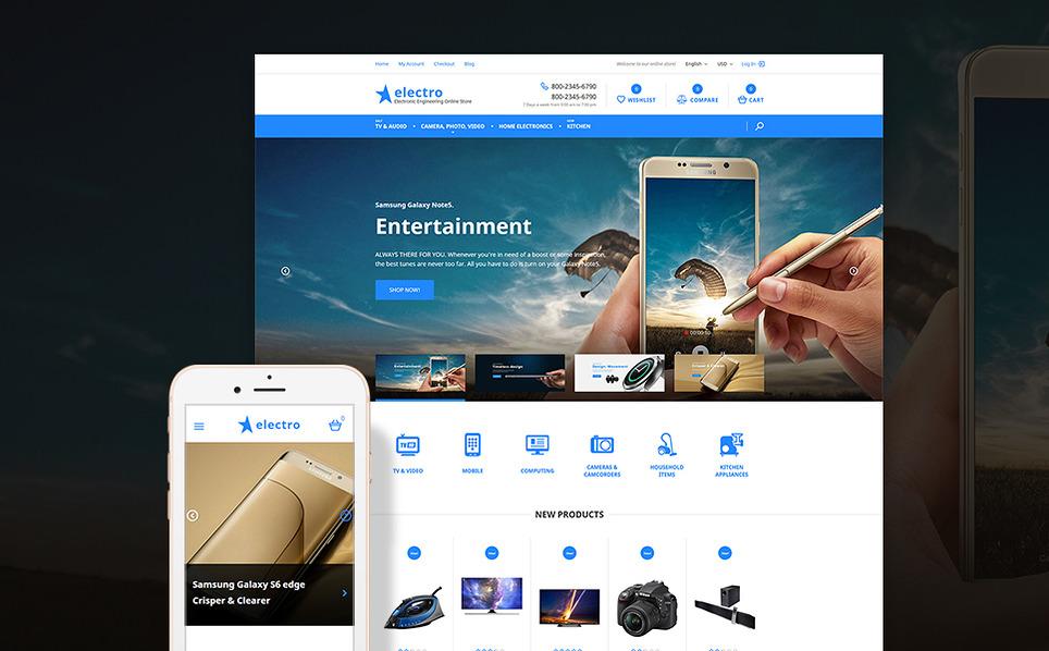 electro2 - 47 Best Premium E-commerce Magento Themes 2019