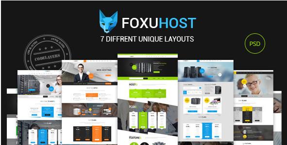 foxuhust Best PSD Website Templates