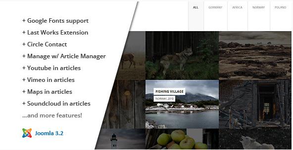 fullscreen Best Responsive Joomla Themes