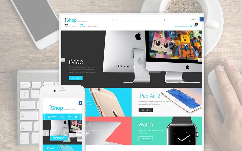 ishop - 47 Best Premium E-commerce Magento Themes 2019