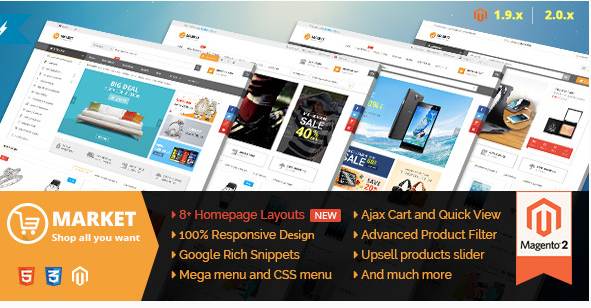 market Best Magento Themes
