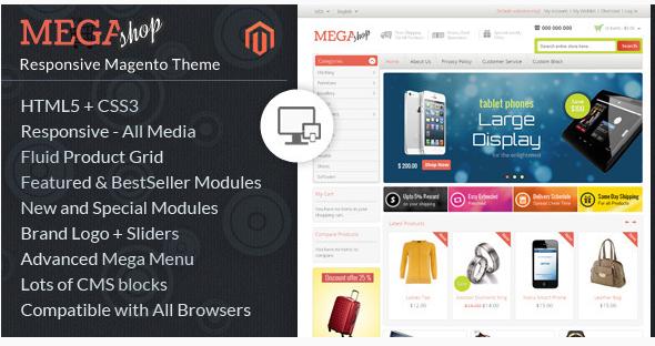 mega shop Best Magento Themes wpshopmart