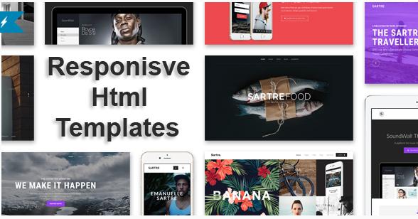 Best Responsive HTML Templates