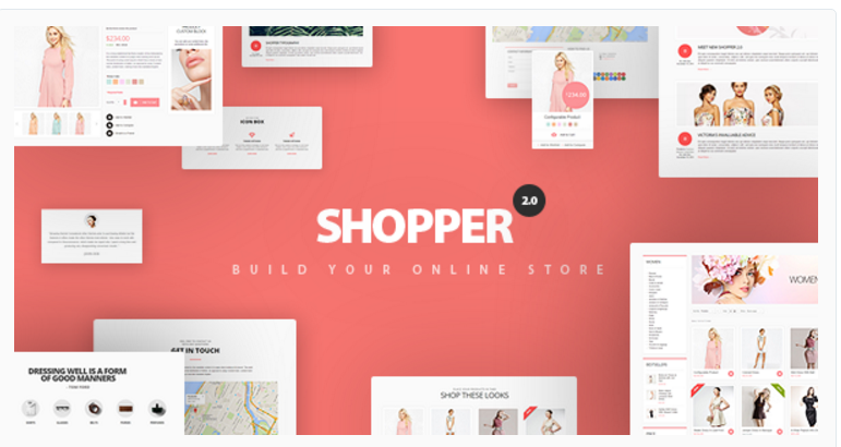 shopper - 47 Best Premium E-commerce Magento Themes 2019