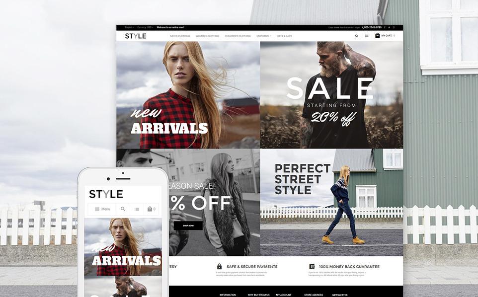 style - 47 Best Premium E-commerce Magento Themes 2019