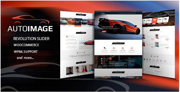 AUTO IMAGE Car Dealer WordPress Themes