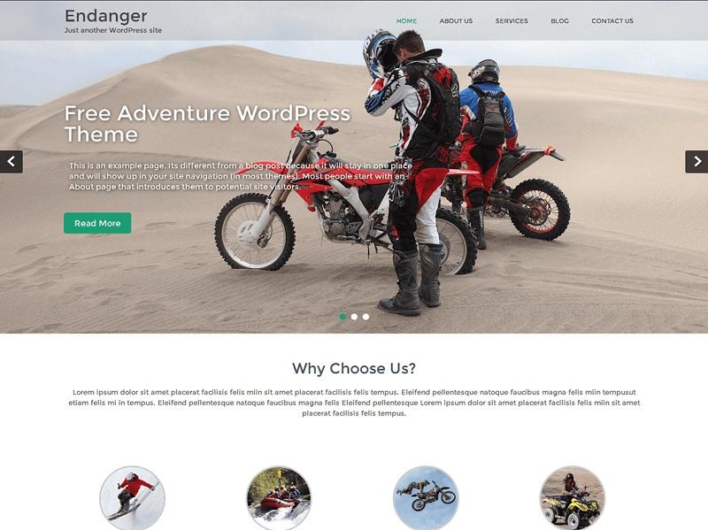 Free Sports WordPress Themes