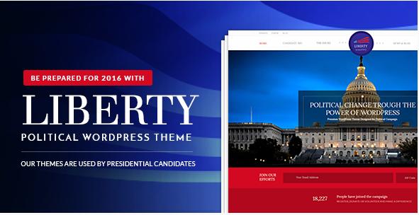 LIBERTY Best Political WordPress Themes