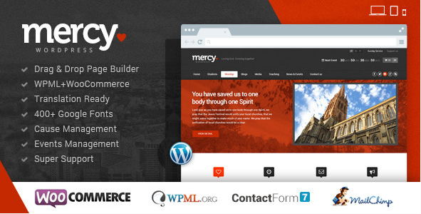 MERCY Best Political WordPress Themes