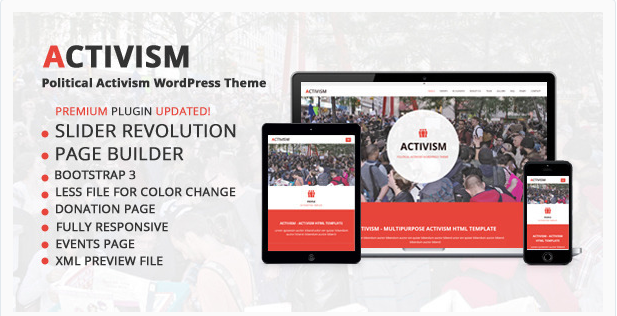 activism Best Political WordPress Themes