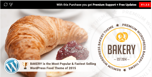 bakery Best Responsive WordPress Food Themes wpshopmart