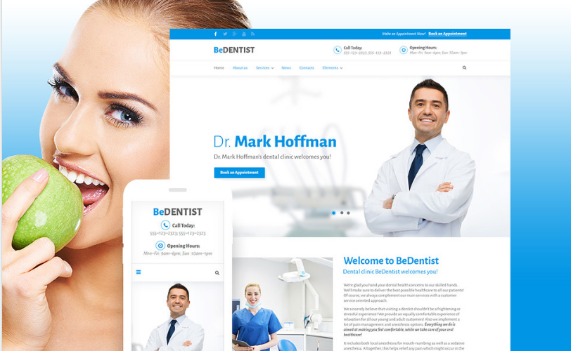 be dentist Best Corporate Html Templates