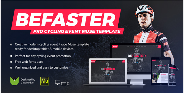 be faster Popular Muse Templates