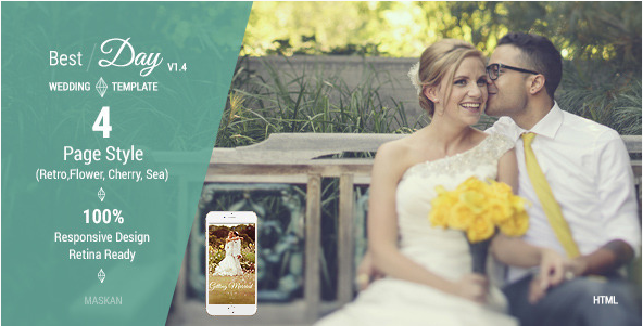 best Wedding HTML Temples