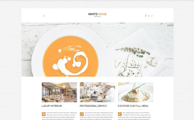 cafe and resto (36) Best Responsive WordPress Food Themes
