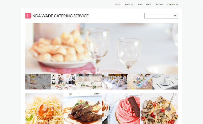 catering Best Responsive WordPress Food Themes