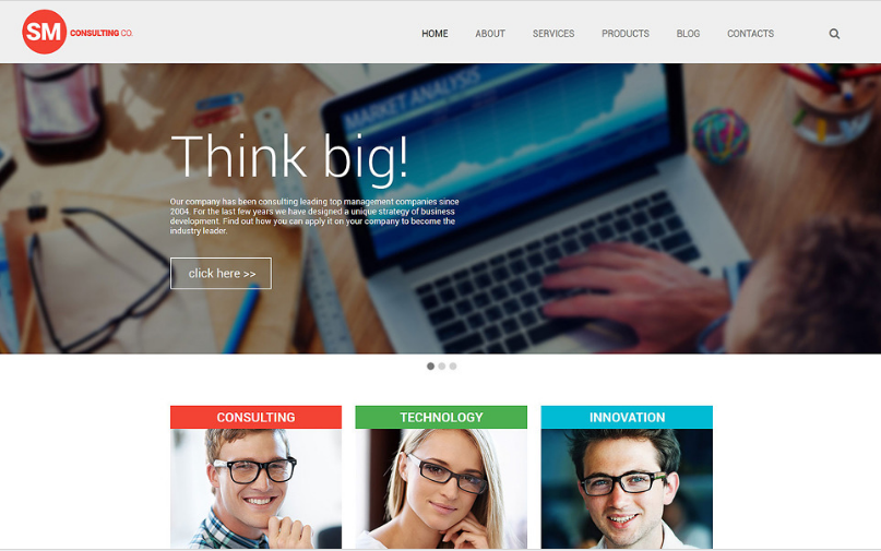 consulting Best Corporate Html Templates