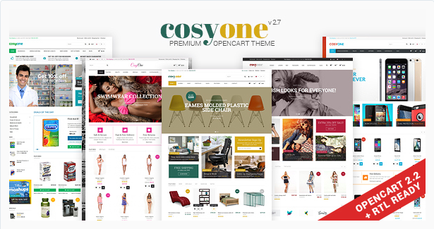 cosy one Best Responsive Magento Themes