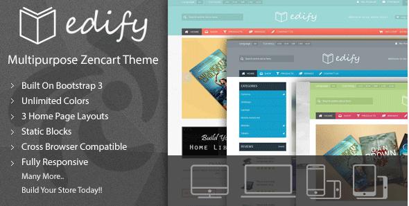 ZenCart eCommerce Themes