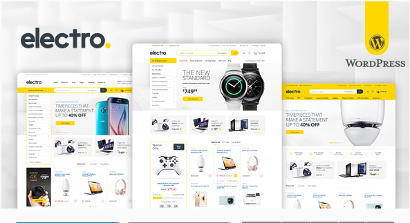 electro Best Responsive WordPress Affiliate and Coupon Themes