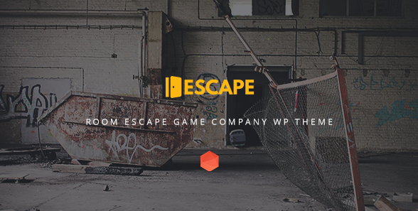 escape Best WordPress Gaming Themes