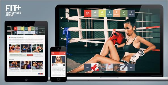 fit+ Best WordPress Sports Themes wpshopmart