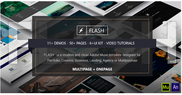 flash - Copy Most Popular Muse Templates wpshopmart