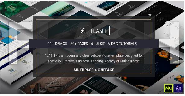 flash - Copy Most Popular Muse Templates wpshopmart