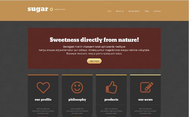 food store(38) Best Responsive WordPress Food Themes