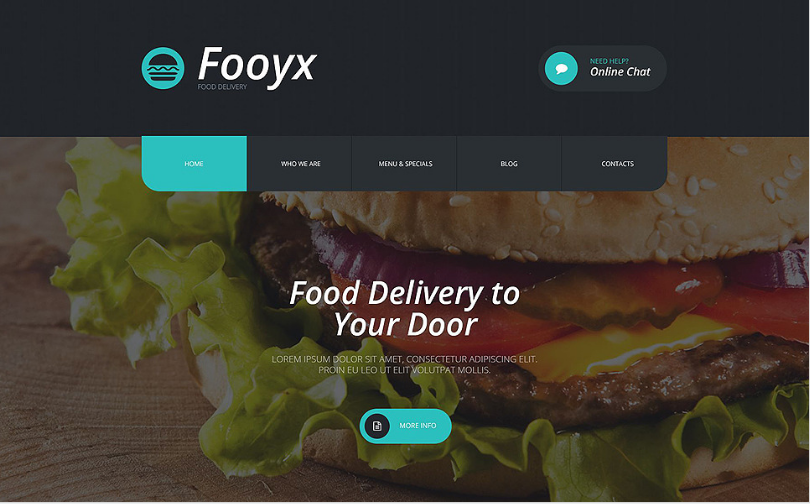 foox Best Corporate Html Templates