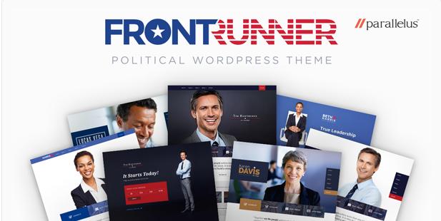 front runner Best Political WordPress Themes