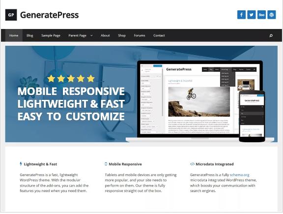 Free Popular WordPress Themes
