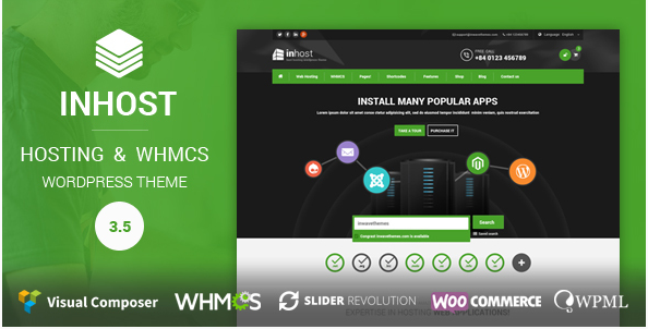In host Best Hosting WordPress Themes wpshopmart