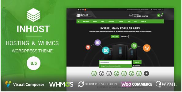 in host Best Hosting WordPress Themes wpshopmart