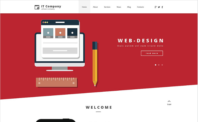 it company Best Corporate Html Templates