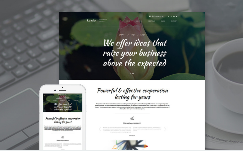 leader Best Corporate Html Templates