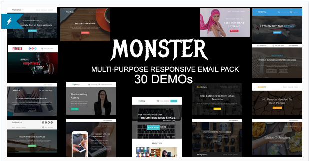 monster Best Html Email Templates 2016 wpshopmart