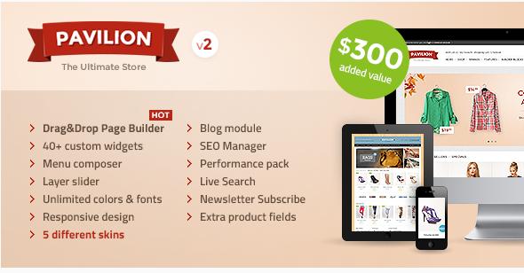pavilion Best OpenCart Themes wpshopmart