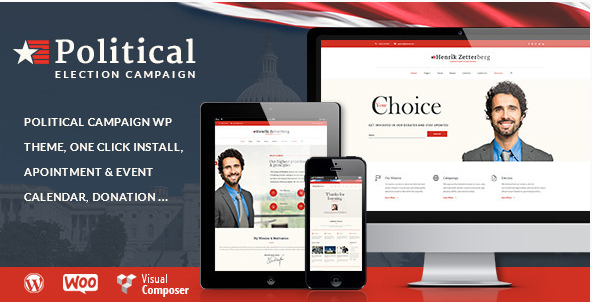 poltical election Best Political WordPress Themes
