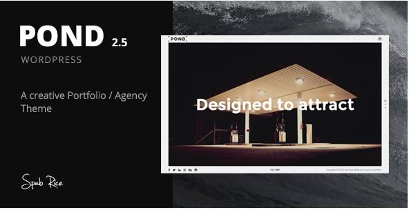 Pond: Best WordPress Agency Themes