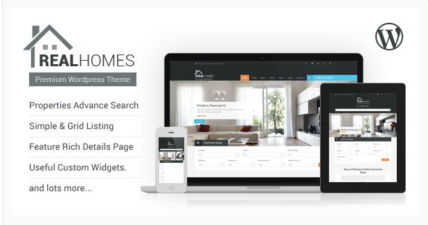 real holmes Best Real Estate WordPress Themes wpshopmart