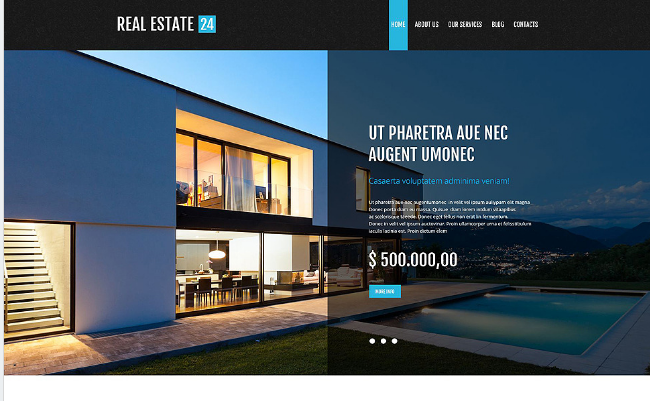 Best Real Estate PSD Templates